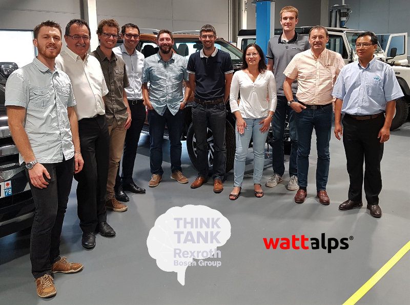 WATTALPS welcomes a Think Tank on electrification of industrial vehicles