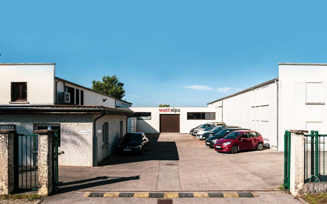 WATTALPS building headquarter Moirans battery